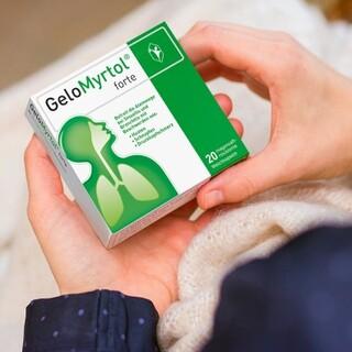 Antibiotikatherapie bei Erkältung | GeloMyrtol® forte